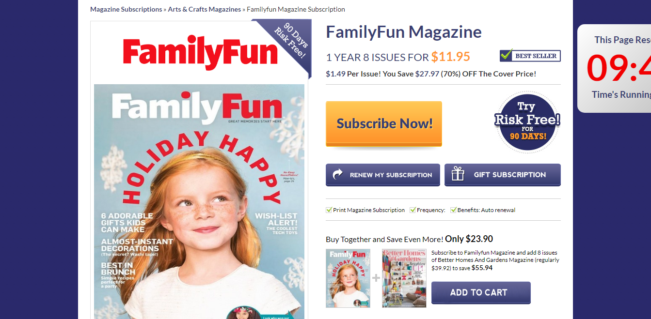 FamilyFun Magazine Subscriptions   Renewals   Gifts.png